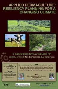 Saskatoon Applied Permaculture Workshop